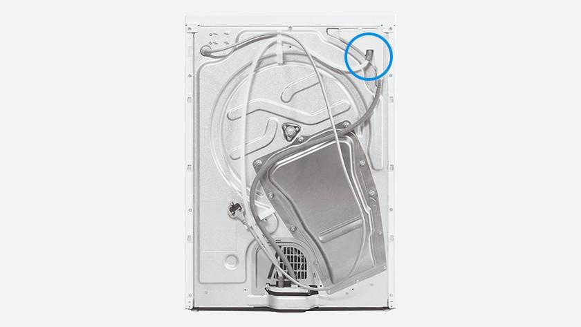 Whirlpool back dryer