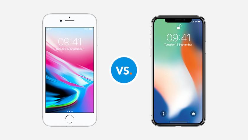 Comparer les Apple iPhone
