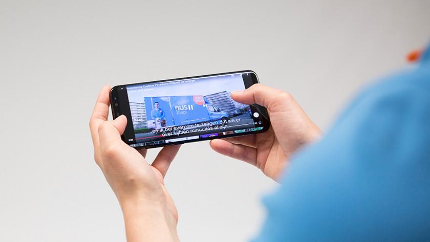 S8 Plus screen