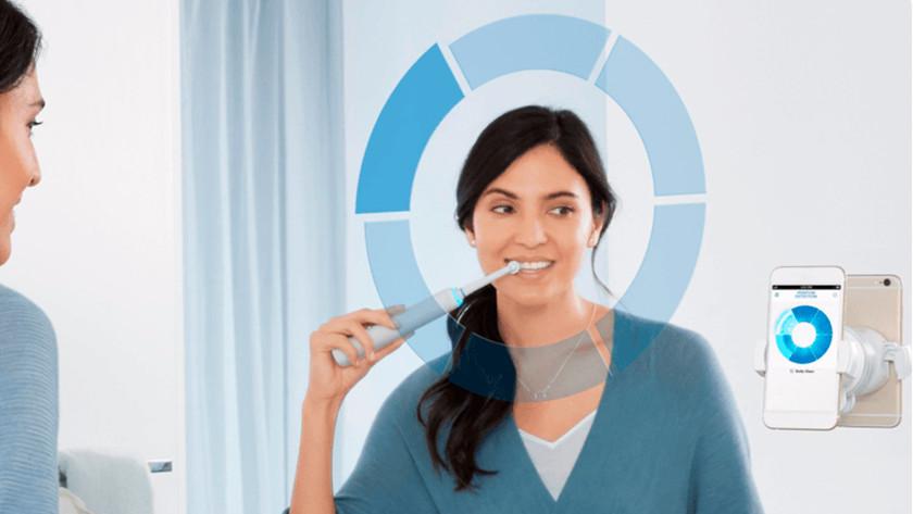 Se brosser les dents avec une brosse à dents Oral-B Genius