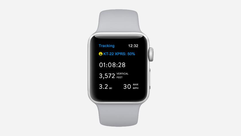 Apple Watch Series 3 hoogtemeter
