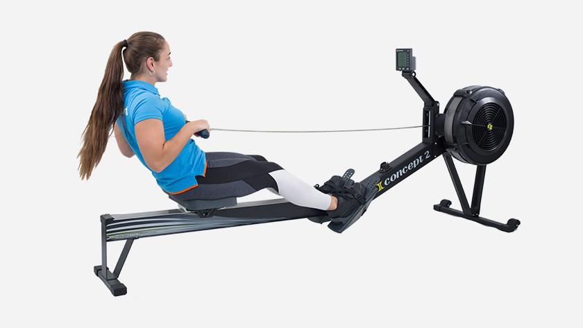 Body length rowing machine