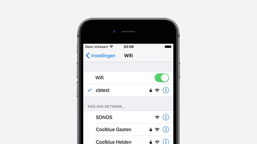 Étape 4 : connectez votre smartphone ou tablette au réseau