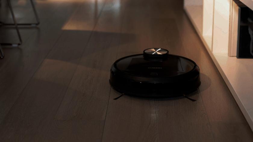 L'aspirateur-robot dans l'obscurité
