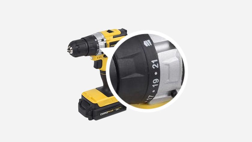 Drill torque settings