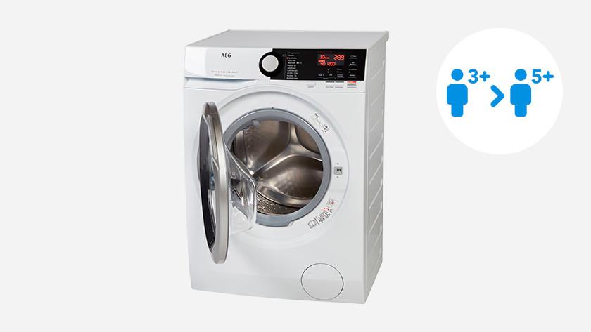Vulgewicht AEG wasmachine 8000 serie