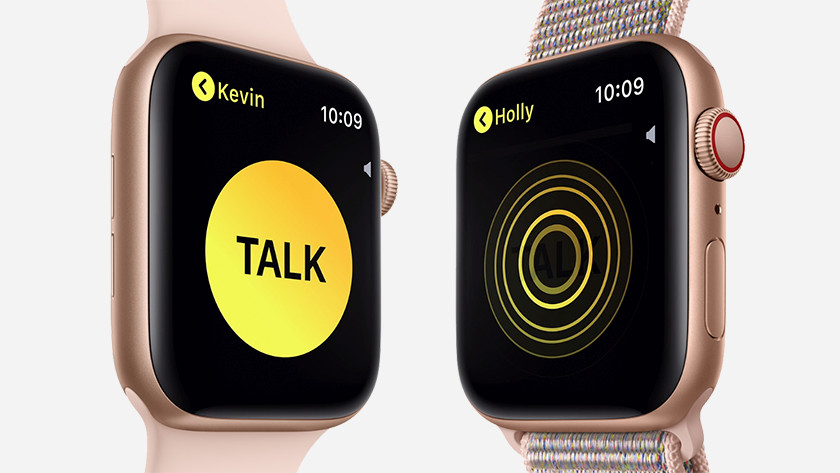 Walkie talkie on the Apple Watch