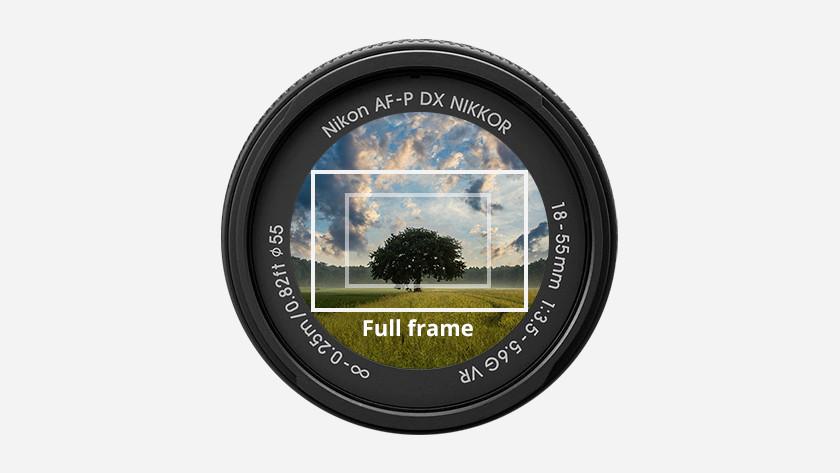 Full frame sensor