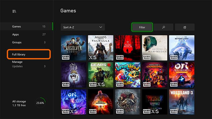 Xbox One games spelen
