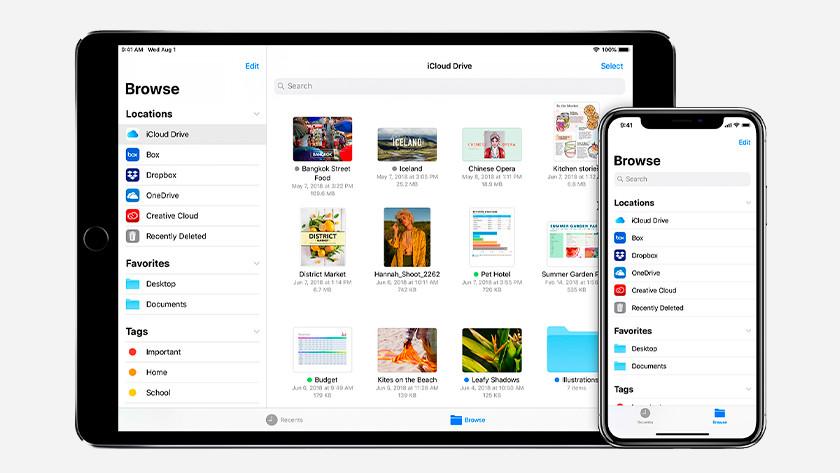Apple Bestanden app