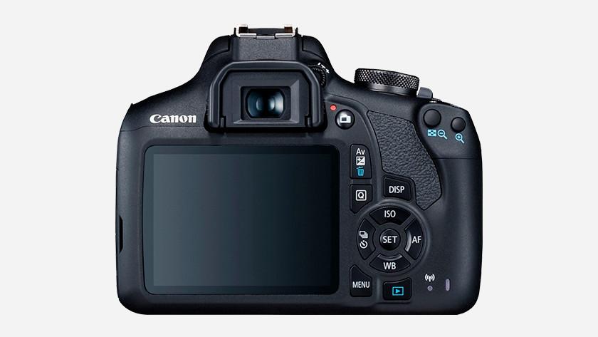 Gebruiksvriendelijkheid Canon EOS 2000D