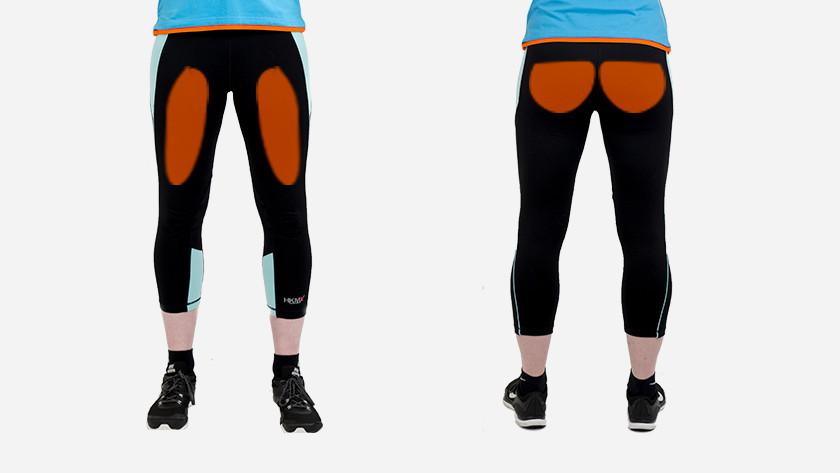 muscles utilisés lorsque vous faites des squats au mur avec le ballon de fitness