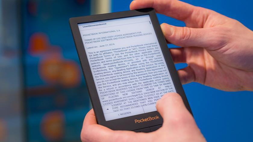 Algemene voorwaarden PocketBook e-reader