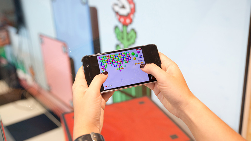Jouer à des jeux sur smartphone