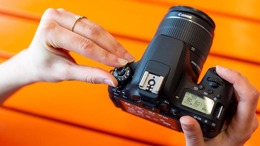 Camera instellen