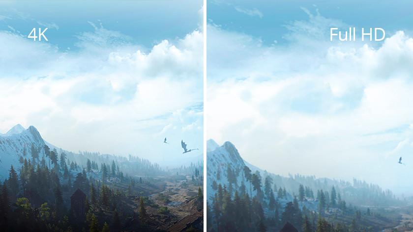 Verschil tussen Full HD en 4K resoluties