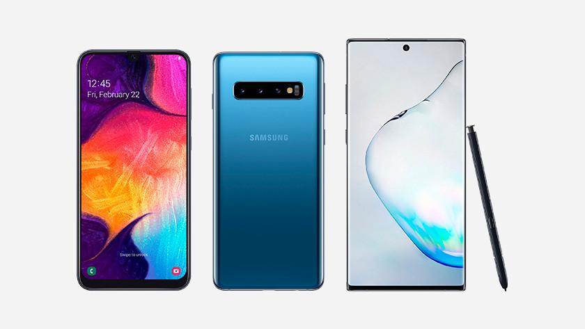Line-up Samsung