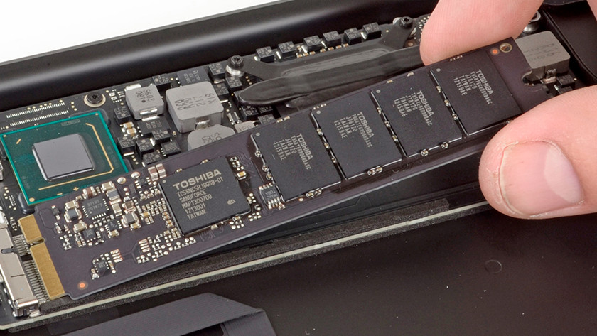 Remplacer HDD SSD MacBook