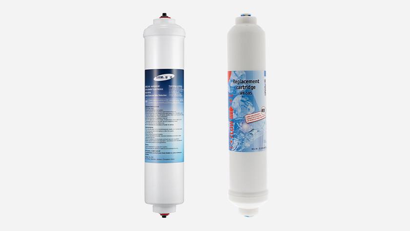 Waterfilters koelkasten