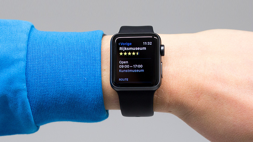 GPS op Apple Watch 3