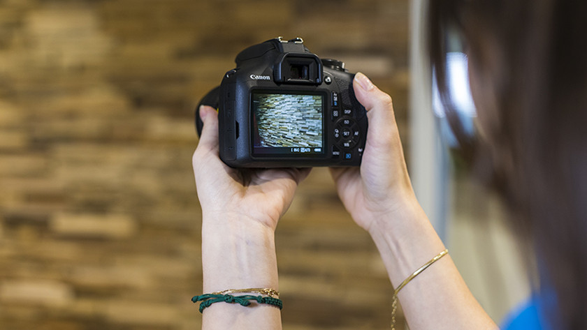 Scherpstelling Canon EOS 2000D