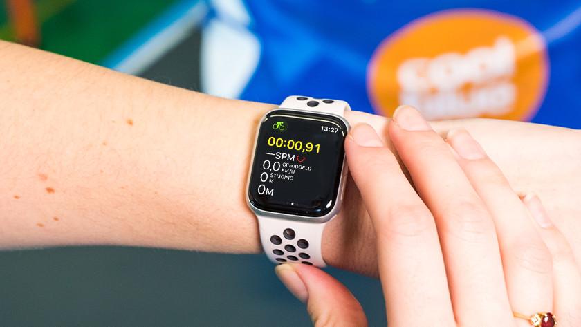 Ritgegevens bijhouden in Work-out-app