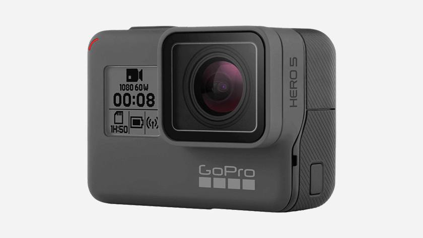 Caractéristiques externes GoPro HERO 5