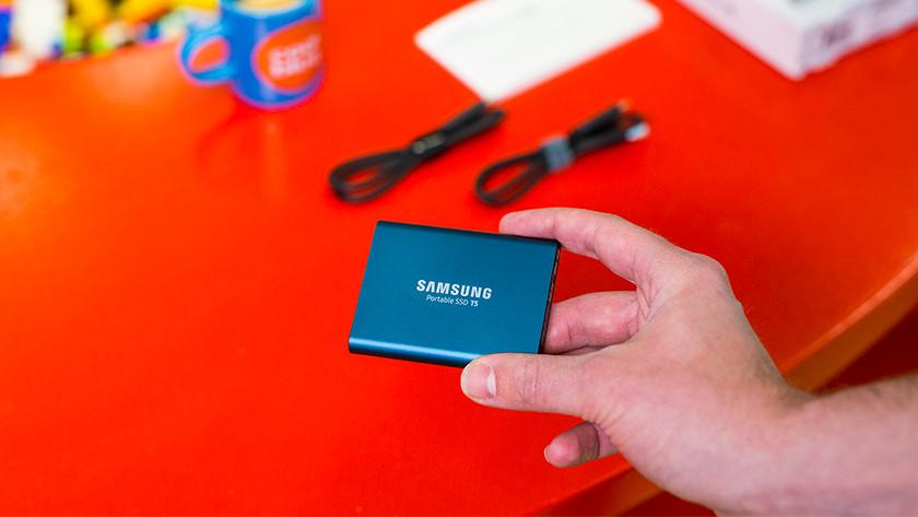 Samsung T5 snelheid