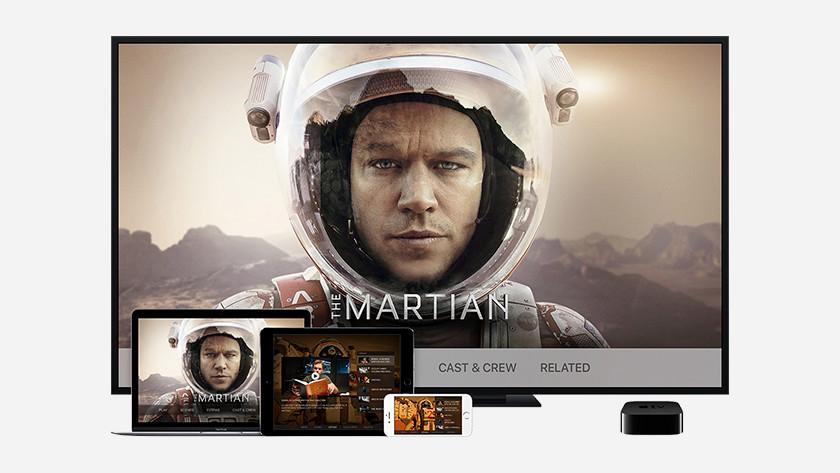 Netflix of YouTube op Apple TV