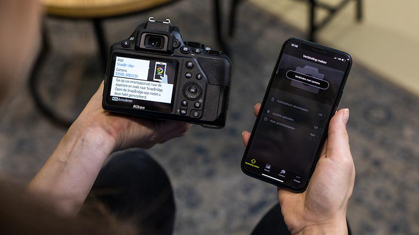Connectiviteit Nikon D3500
