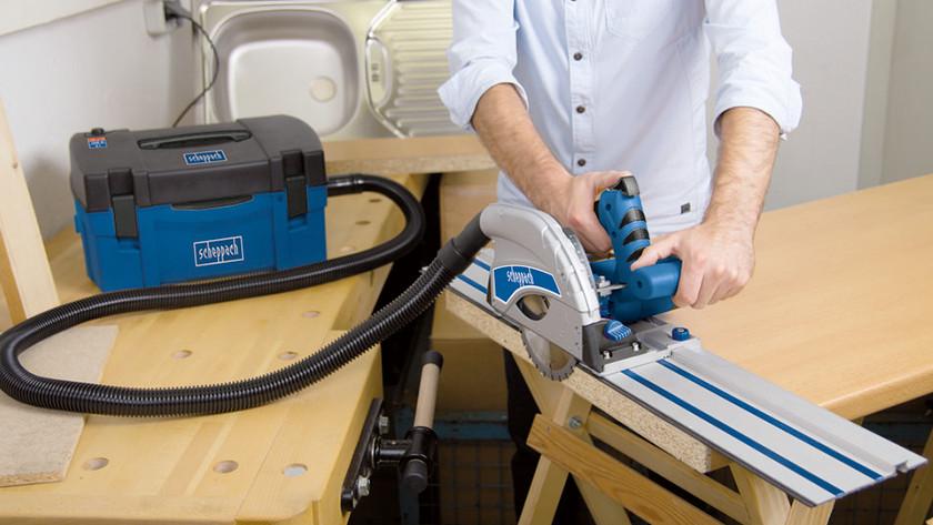 Récupérateur de poussière de la scie à onglet