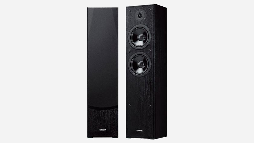 Floor standing column speakers