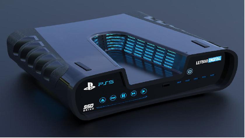 PS5 ontwerp