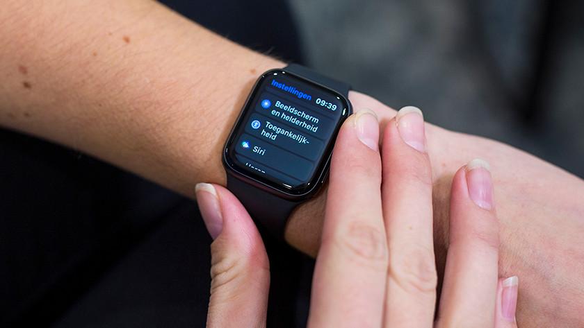 Ondersteuning instellen Apple Watch