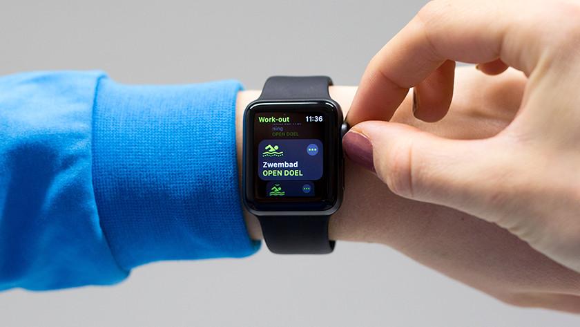 Zwemmen met Apple Watch 3