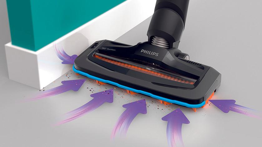 Philips SpeedPro zuigrichting
