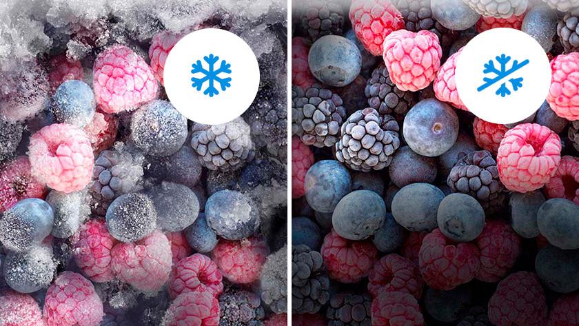 Produits frais avec No Frost