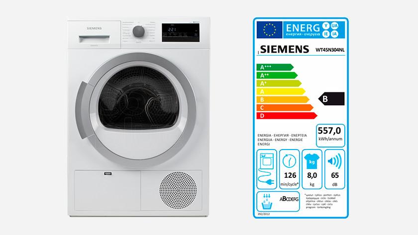 Siemens warmtepomp droogkast
