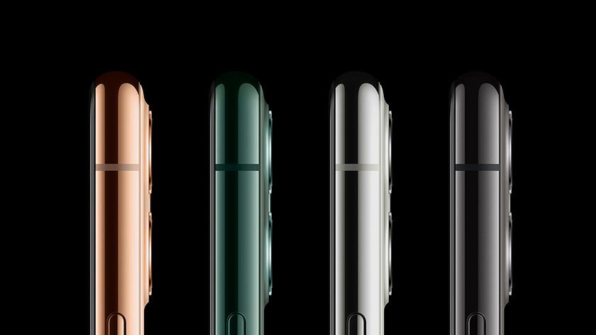 Apple iPhone 11 Pro (Max) kleuren