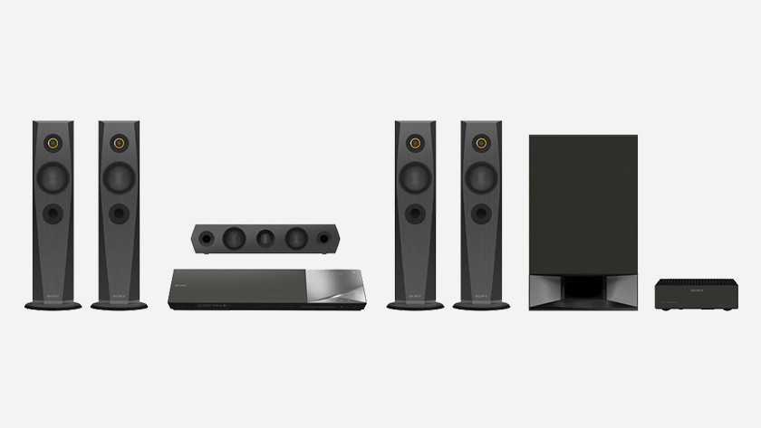 Complete oplossing home cinema set