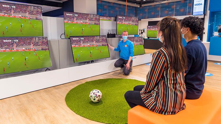 Tv voor sport kijken