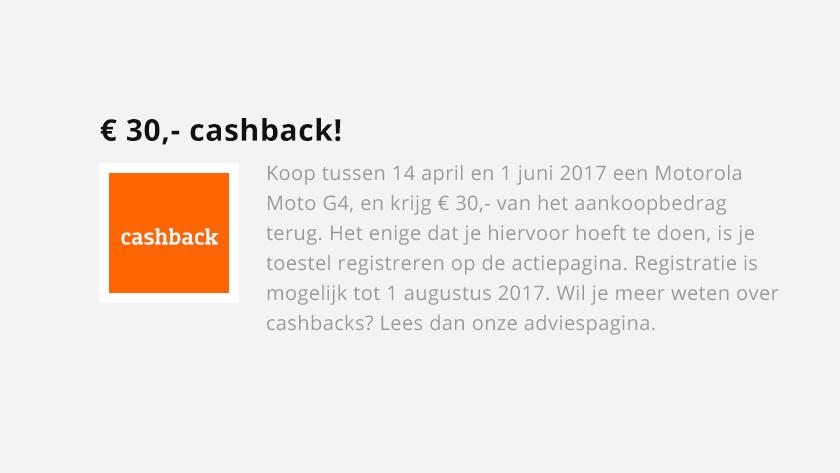 Hoe werkt een cashback