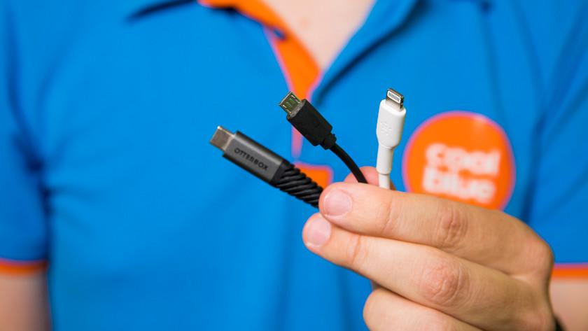 usb aansluiting kabel kiezen