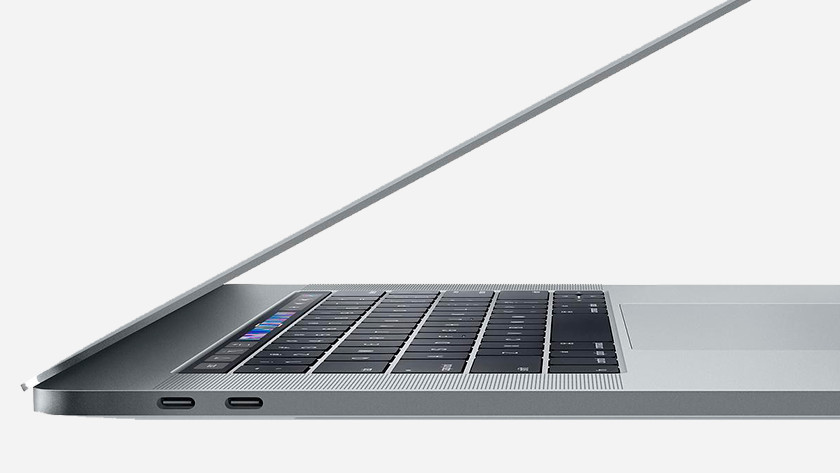 Usb poorten MacBook.