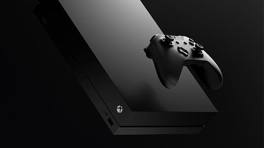 Xbox One X avec alimentation intégrée