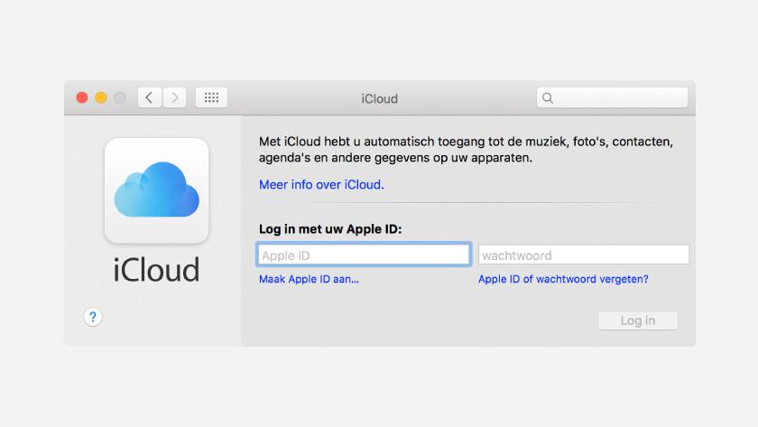 Enregistrer des fichiers via iCloud