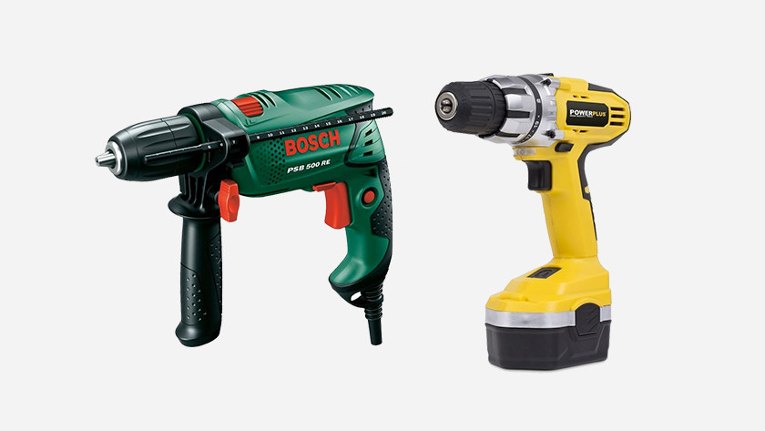 Drilling machines for drilling in tiles