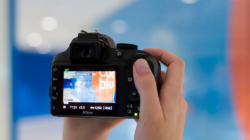 Vergelijkingen met Nikon en Canon camera's