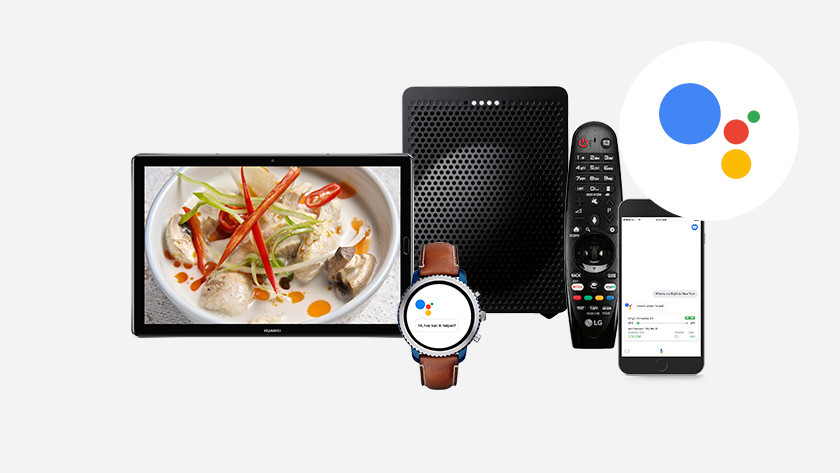 Devices with Google Assistant