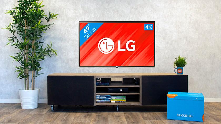 LG tv hulp na aankoop